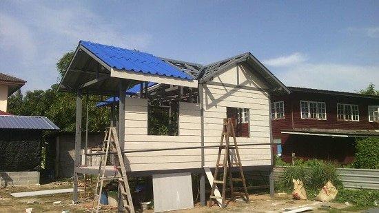 บ้านน็อคดาวน์-สร้าง1